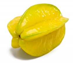 Carambola pode prejudicar os rins do pet.