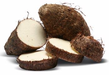 Inhames são excelentes fontes de carboidratos, assim como a batata-doce e o cará. (Créditos: www.saudecerto.com)