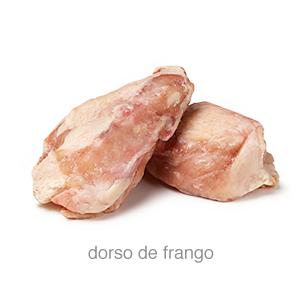 dorsos de frango